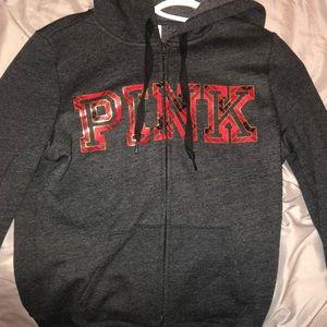 ZipUp Pink sweater